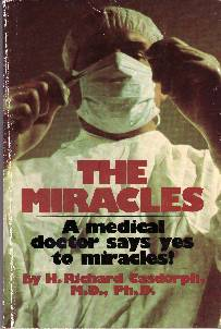 "Cover for book, ""Miracles"""