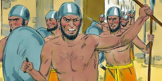 Ancient soldiers