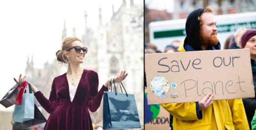 Conspicuous consumption vs environmental concern