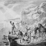 First European crossing of Blue Mountains, Australia