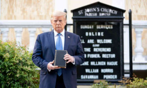President Trump and Bible