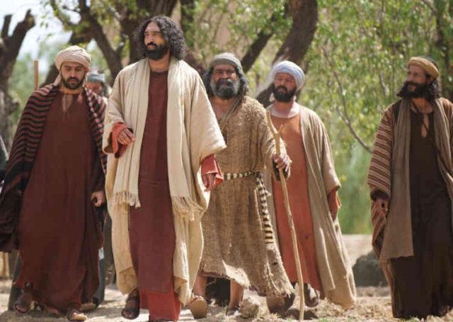 Jesus & disciples